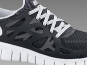 Nike Free Run+ WMNS Black/White dispo