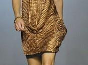 robe maille glamour