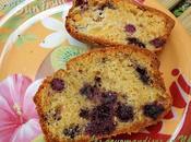 Cake mûres-nectarine