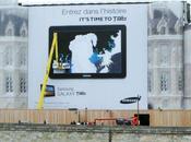 fresque géante pour Galaxy Samsung