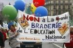 suppressions postes dans l'éducation nationale suffit!!!
