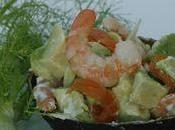 Avocat Saumon Crevettes Fenouil