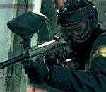 partie Paintball slowmotion