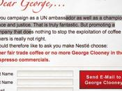 Dear Georges... spot Nespresso voudrait interdire