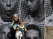 PHOTOS J.R. affichent palestiniens Ramallah