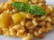 Pâtes courgettes/basilic