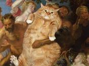 Peinture chat