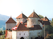 monument remarquable Pays Savoie: chateau Thorens