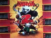 Kung Panda calendrier collector