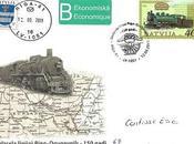 Train Riga/Daugavpils Oblitération spéciale