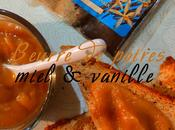 Beurre poires miel vanille