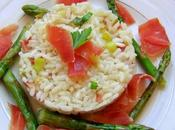 Risotto asperges jambon