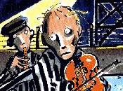 violon dans nuit