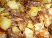 Pommes terre sautée canard confit OUEST