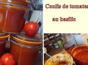 Conserves coulis tomates basilic 2011