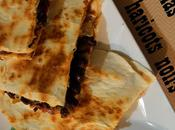 Quesadillas poulet-haricots noirs