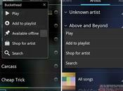 Fuite applications Google dédiées ICS, Music 4.0.1 (apk) aperçu plus