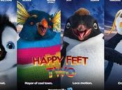 Happy Feet compagnie Brad Matt...sans oublier Elijah Robbie.. Tous piste!!!