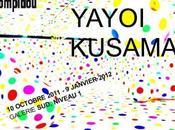 Yayoi Kusama, plasticienne japonnaise, Centre Pompidou