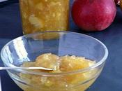 Confiture pommes cannelle