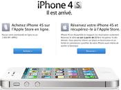 Réservez votre iPhone allez chercher l'Apple Store demain