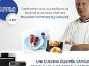 "Devenez chef ""Nouvelles invitations Samsung"""