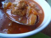 manière d'une soupe harira