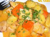 poulet gnocchis potimarron