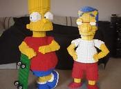 Milhouse fait LEGO