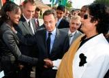 Sarkozy, champion monde droits l'homme, sérieux