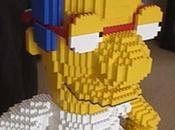 Milhouse, simpsons, tout lego