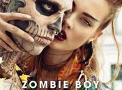 Zombie Rick Genest méconnaissable