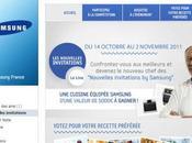 Samsung France Nouvelles Invitations Votez pour votre recette préférée