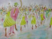 Salseros addicted danses latino américaines, exposition express d'artistes téléthon