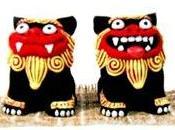 Shisa gardiens d'okinawa