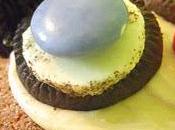 Cupcakes chocolat bleuets rigolos