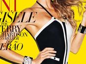 Gisèle Bündchen couverture premier Harper's Bazaar brésilien