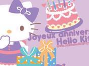 Aujourd'hui Hello Kitty fête