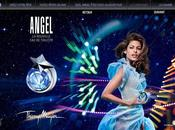 Avec ANGEL, Thierry Mugler invite rêve lance première application multi-support THIERRY MUGLER -ANGEL»