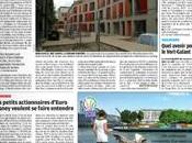 article consacré Villa Solea dans Parisien (cahier Seine-Saint-Denis)
