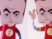 Sheldon Cooper papertoy