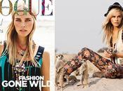 Isabel Lucas Afrique pour Vogue Australia