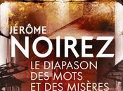 DIAPASON MOTS MISÈRES Jérôme Noirez