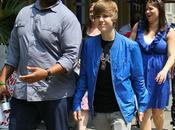 Justin Bieber garde corps s'attire ennuis