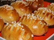 Petits pains lait crème fraîche Hokkaido milk buns Sandra