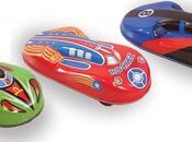 Elles roulent, elles volent fantastiques voitures friction Space
