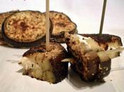 Aubergines croustillantes fromages...pour apéritif sain