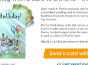 Envoyer l'argent amis Facebook grâce Paypal