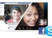 Appels vidéo Facebook Skype