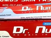 Dr.Numb, creme anti-douleur pour tatouage